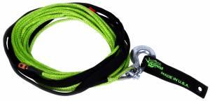 Winch Rope UTV 1/4 Inch x 50 Foot Green VooDoo Offroad