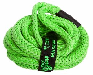 Kinetic Recovery Rope UTV 1/2 Inch x 20 Foot Green VooDoo Offroad