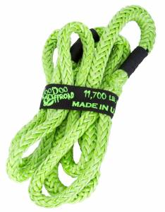 Kinetic Recovery Rope UTV 1/2 Inch x 10 Foot Green VooDoo Offroad