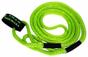 Kinetic Recovery Rope UTV 1/2 Inch x 16 Foot Green VooDoo Offroad