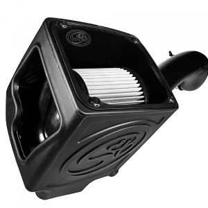S&B - Cold Air Intake For 16-19 Silverado/Sierra 2500, 3500 6.0L Dry Extendable White S&B - Image 6