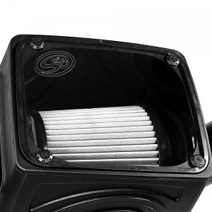 S&B - Cold Air Intake For 16-19 Silverado/Sierra 2500, 3500 6.0L Dry Extendable White S&B - Image 7