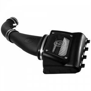 S&B - Cold Air Intake For 11-16 Ford F250, F350 V8-6.2L Dry Dry Extendable White S&B - Image 3