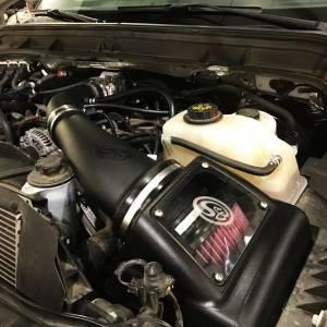 S&B - Cold Air Intake For 11-16 Ford F250, F350 V8-6.2L Dry Dry Extendable White S&B - Image 11