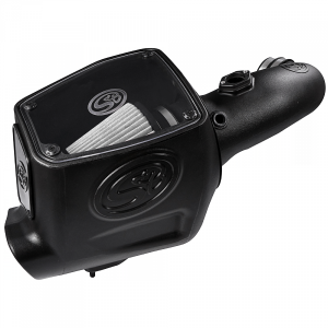 S&B - Cold Air Intake For 08-10 Ford F250 F350 V8-6.4L Powerstroke Dry Extendable White S&B - Image 4