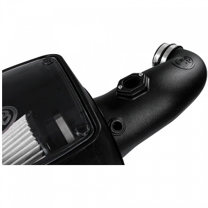 S&B - Cold Air Intake For 08-10 Ford F250 F350 V8-6.4L Powerstroke Dry Extendable White S&B - Image 7