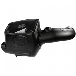 S&B - Cold Air Intake For 08-10 Ford F250 F350 V8-6.4L Powerstroke Dry Extendable White S&B - Image 9