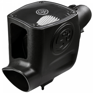 S&B - Cold Air Intake For 08-10 Ford F250 F350 V8-6.4L Powerstroke Dry Extendable White S&B - Image 10