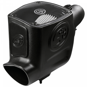S&B - Cold Air Intake For 08-10 Ford F250 F350 V8-6.4L Powerstroke Dry Extendable White S&B - Image 11