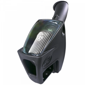 S&B - Cold Air Intake For 11-16 Ford F250 F350 V8-6.7L Powerstroke Dry Extendable White S&B - Image 2