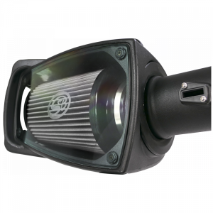 S&B - Cold Air Intake For 11-16 Ford F250 F350 V8-6.7L Powerstroke Dry Extendable White S&B - Image 7