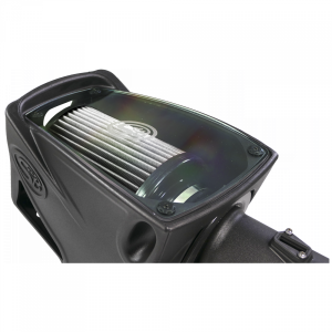 S&B - Cold Air Intake For 11-16 Ford F250 F350 V8-6.7L Powerstroke Dry Extendable White S&B - Image 8