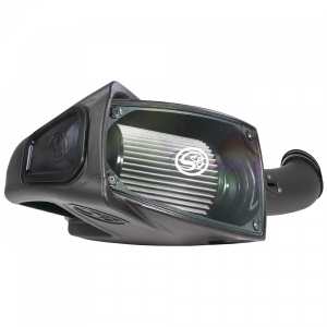 S&B - Cold Air Intake For 11-16 Ford F250 F350 V8-6.7L Powerstroke Dry Extendable White S&B - Image 10