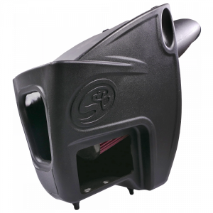 S&B - Cold Air Intake For 11-16 Ford F250 F350 V8-6.7L Powerstroke Cotton Cleanable Red S&B - Image 4