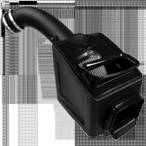 S&B - Cold Air Intake For 17-19 Chevrolet Silverado GMC Sierra V8-6.6L L5P Duramax Dry Extendable White S&B - Image 4