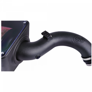 S&B - Cold Air Intake For 04-05 Chevrolet Silverado GMC Sierra V8-6.6L LLY Duramax Cotton Cleanable Red S&B - Image 2