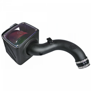 S&B - Cold Air Intake For 04-05 Chevrolet Silverado GMC Sierra V8-6.6L LLY Duramax Cotton Cleanable Red S&B - Image 6