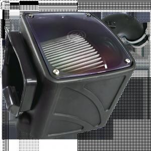 S&B - Cold Air Intake For 01-04 Chevrolet Silverado GMC Sierra V8-6.6L LB7 Duramax Dry Extendable White S&B - Image 4