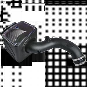 S&B - Cold Air Intake For 01-04 Chevrolet Silverado GMC Sierra V8-6.6L LB7 Duramax Dry Extendable White S&B - Image 5
