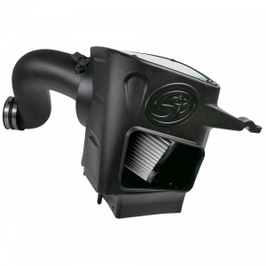 S&B - Cold Air Intake For 03-07 Dodge Ram 2500 3500 5.9L Cummins Dry Extendable White S&B - Image 2