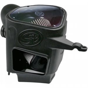 S&B - Cold Air Intake For 03-07 Dodge Ram 2500 3500 5.9L Cummins Dry Extendable White S&B - Image 7