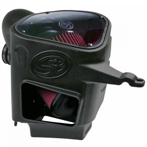 S&B - Cold Air Intake For 03-07 Dodge Ram 2500 3500 5.9L Cummins Cotton Cleanable Red S&B - Image 7