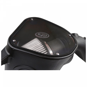 S&B - Cold Air Intake For 10-12 Dodge Ram 2500 3500 6.7L Cummins Dry Extendable White S&B - Image 4