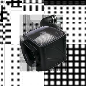 S&B - Cold Air Intake For 07-10 Chevrolet Silverado GMC Sierra V8-6.6L LMM Duramax Dry Extendable White S&B - Image 4