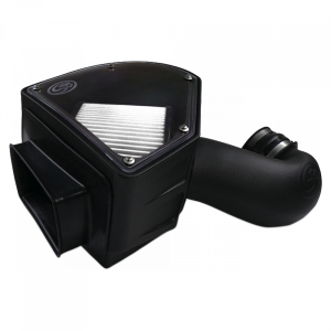 S&B - Cold Air Intake For 94-02 Dodge Ram 2500 3500 5.9L Cummins Dry Extendable White S&B - Image 1