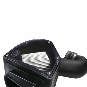 S&B - Cold Air Intake For 94-02 Dodge Ram 2500 3500 5.9L Cummins Dry Extendable White S&B - Image 4