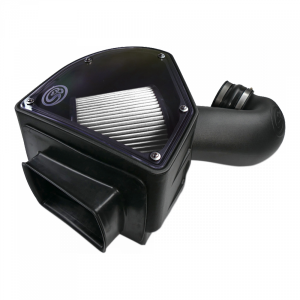 S&B - Cold Air Intake For 94-02 Dodge Ram 2500 3500 5.9L Cummins Dry Extendable White S&B - Image 5