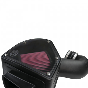 S&B - Cold Air Intake For 94-02 Dodge Ram 2500 3500 5.9L Cummins Cotton Cleanable Red S&B - Image 2
