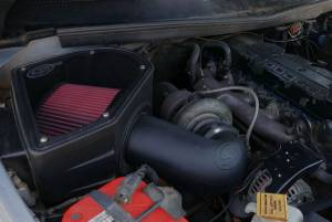 S&B - Cold Air Intake For 94-02 Dodge Ram 2500 3500 5.9L Cummins Cotton Cleanable Red S&B - Image 9