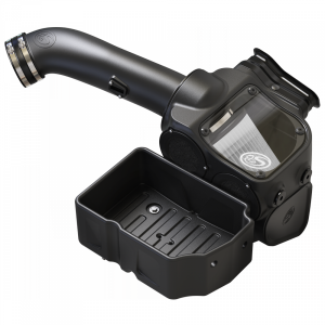 S&B - Cold Air Intake For 17-19 Ford F250 F350 V8-6.7L Powerstroke Dry Extendable White S&B - Image 4