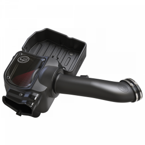 Cold Air Intake For 17-19 Ford F250 F350 V8-6.7L Powerstroke Cotton Cleanable Red S&B