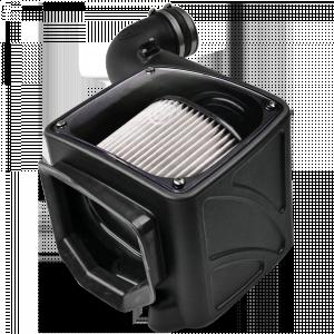S&B - Cold Air Intake For 06-07 Chevrolet Silverado GMC Sierra V8-6.6L LLY-LBZ Duramax Dry Extendable White S&B - Image 4