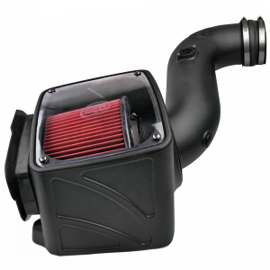 S&B - Cold Air Intake For 06-07 Chevrolet Silverado GMC Sierra V8-6.6L LLY-LBZ Duramax Cotton Cleanable Red S&B - Image 1