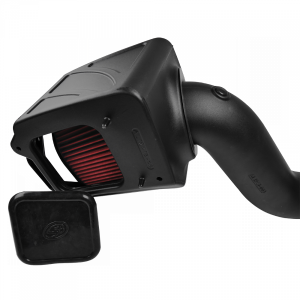 S&B - Cold Air Intake For 06-07 Chevrolet Silverado GMC Sierra V8-6.6L LLY-LBZ Duramax Cotton Cleanable Red S&B - Image 2