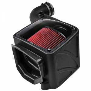 S&B - Cold Air Intake For 06-07 Chevrolet Silverado GMC Sierra V8-6.6L LLY-LBZ Duramax Cotton Cleanable Red S&B - Image 3