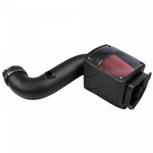S&B - Cold Air Intake For 06-07 Chevrolet Silverado GMC Sierra V8-6.6L LLY-LBZ Duramax Cotton Cleanable Red S&B - Image 4