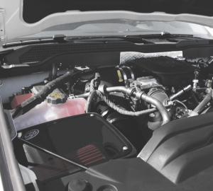 S&B - Cold Air Intake For 11-16 Chevrolet Silverado GMC Sierra V8-6.6L LML Duramax Dry Extendable White S&B - Image 3