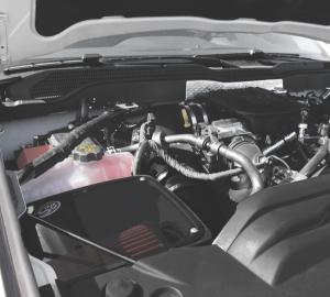 S&B - Cold Air Intake For 11-16 Chevrolet Silverado GMC Sierra V8-6.6L LML Duramax Cotton Cleanable Red S&B - Image 5