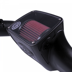 S&B - Cold Air Intake For 03-07 Ford F250 F350 F450 F550 V8-6.0L Powerstroke Cotton Cleanable Red S&B - Image 3