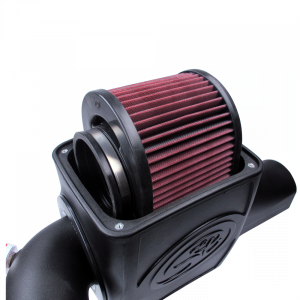 S&B - Cold Air Intake For 03-07 Ford F250 F350 F450 F550 V8-6.0L Powerstroke Cotton Cleanable Red S&B - Image 5