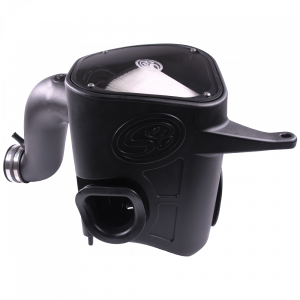S&B - Cold Air Intake For 13-18 Dodge Ram 2500 3500 L6-6.7L Cummins Dry Extendable White S&B - Image 1