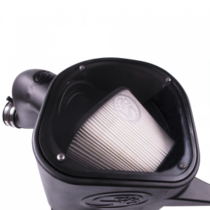 S&B - Cold Air Intake For 13-18 Dodge Ram 2500 3500 L6-6.7L Cummins Dry Extendable White S&B - Image 2
