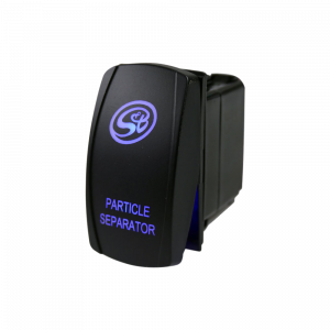 LED Rocker Switch with S&B Logo for Particle Separator