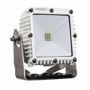 4x4 115 Degree DC Power Scene Light White Housing Excludes 1 x 2 RIGID Industries