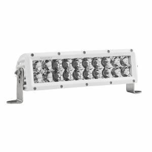 10 Inch Spot/Flood Combo Light White Housing E-Series Pro RIGID Industries