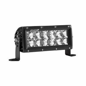 6 Inch Spot/Flood Combo Light Amber E-Series Pro RIGID Industries